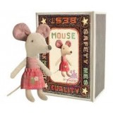 Mouse Little Stister In An Box