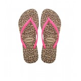 Havaianas Slim Animals Grey/pink