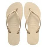 Havaianas Slim Sand Grey/ Light Golden