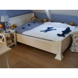 Thomas Bed 140x200 Wit Incl Bodem
