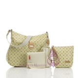 Nina Antalya Print Lime/chocolate