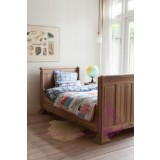 Thomas Bed Walnut 90x200