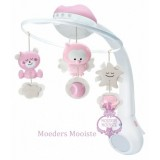 Misical 3 In 1 Projector Mobile Pink