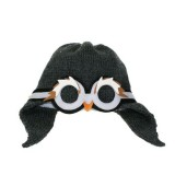 Penguin Hat Charoal