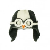 Penguin Hat Charoal Boys