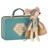 Mouse, Guardian Hero In Suitcase