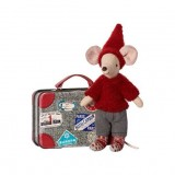 Travel Pixie Mouse, Suitcase