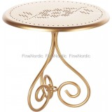 Coffee Table Gold Vintage