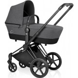 Priam With Seat Lux Manhattan Grey Mid Grey