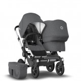 Donkey2 DUO Alu Basis Grey Melange