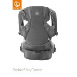 Mycarrier Buikdrager Grey Mesh