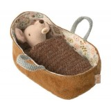 Baby Muose In Carrycot