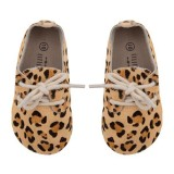 Oxford Booties Leopard