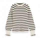Striped Knit Shaped