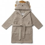 Lily Bathrobe Lion Stone Beige