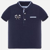 Polo S/s Mao Neck