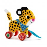 Pull Along Toy - Leopard