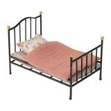 Vintage Bed Antraciet Mini