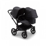 Bugaboo Donkey3 Duo Complete Mineral Black/washed Black