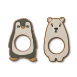Gili Teether - 2 Pack Hunter Green