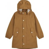 Blake Long Raincoat Mustard